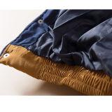 Veste en mousseline de soie pour dames avec manteau