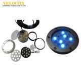 buntes Unterwasser-LED Brunnen-Licht Dekoration 15PCS RGB-IP68, Landschaftslicht