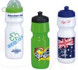 Bottiglia di plastica di sport della bicicletta con stampa di marchio del cliente