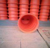 Rote Plastikverkehrs-Straßen-Zylinder-Sicherheits-Trommel