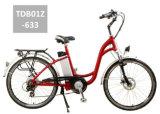 E-Vélo intéressant et bon marché de ville avec la pédale aidée