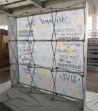 Структура 3X3 портативной алюминиевой легкой ткани прямая хлопает вверх стойка знамени