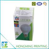Custom LED plana del papel de embalaje caja de envases ligeros