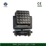 25*15W RGBW 4in1 LED DJ bewegliches HauptMartix Licht