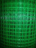 Покрынная PVC сваренная ячеистая сеть на сбываниях