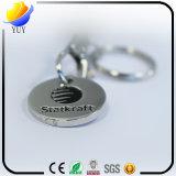 Supporto Keychain della moneta del carrello del nichel