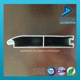 Profil en aluminium personnalisé de prix usine pour le guichet de porte d'obturateur de roulement