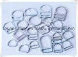 La alta calidad de la ISO 9001 forjó los anillos de acero del cinc de la ranura doble