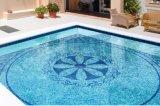 Mosaico del vidrio cristalino para la piscina