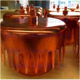 Kupfernes Luftblasen-Schutzkappen-Tellersegment für Destillation-Spalte-Aufsatz
