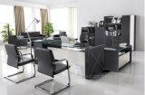 Bureau de bureau en MDF en cuir de style nouveau style (AT018)