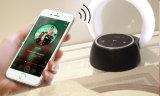 Bluetoothの携帯用スピーカー及び夜ライト、USB再充電可能なLEDの目はスピーカーが付いている接触卓上スタンドを保護する