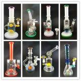 Kleurrijke Amercian Kleur 18mm de Mannelijke Gezamenlijke Rokende Pijp van de Waterpijp van het Glas van de Installaties van de SCHAR