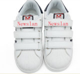 ゴム製Outsole (CH-011)の平らな普及したKid'shoes