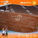 Contre-plaqué fait face par film pour le travail concret Shuttering et de forme (bois de construction de construction)