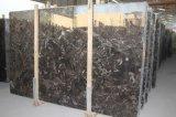 Pietra naturale del materiale da costruzione della Cina tagliata per graduare le mattonelle secondo la misura di marmo scure della parete di Emperador per la stanza da bagno/pavimento/controsoffitto