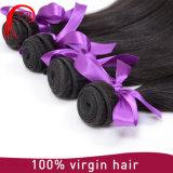 100% tissages droits en soie brésiliens de cheveux humains de Remy de Vierge