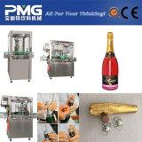 Bouteille de vin automatique industrielle bouchant la machine sur Markret