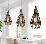 Luz Pendent decorativa da lâmpada da cafetaria romântica moderna do metal