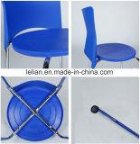 770 Lb. 수용량 디자이너 은 프레임 (LL-0011B)를 가진 다채로운 플라스틱 더미 의자