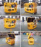 Super Stille 5kw Draagbare Diesel Generator (DG6800SE)