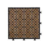 Disegno materiale delle mattonelle di pavimento di bordi del raggruppamento della Camera di Decking composito poco costoso del nuovo modello con i chip Hotsale in Sri Lanka