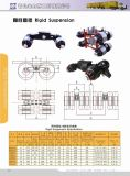 Suspension rigide de suspension de camion de suspension de remorque de système de la suspension
