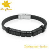 Neue Form-echtes Leder-Armband-Schmucksachen