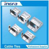 304 del metal del acero inoxidable de la correa de unión de la cinta de flejado