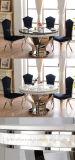 中国製セットされる安い大理石の上のダイニングテーブル