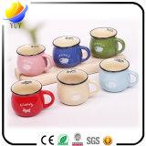 Taza de cerámica linda personalizada