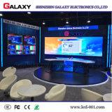 Visualizzazione fissa dell'interno di alta risoluzione del comitato del LED P1.5625/P1.667/P1.923 per la fase della TV, riflettente centro
