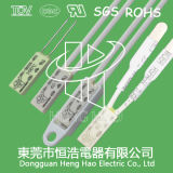 Protector termal de Bh-Tb02b-B8d, termóstato de Bh-Tb02b-B8d
