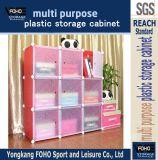 9 kubussen Bookcase met Door (fh-al0033-9)