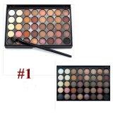 2017 colores cosméticos/conjunto de la sombra 40 del maquillaje de la nueva gama de colores luminosa mate del sombreador de ojos