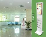 21.5 -- Zoll LCD-Screen-Panel-Fußboden, der Monitor-Kiosk Digital-Displaytouchscreen steht