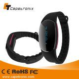 Bande de poignet de forme physique de charme/bracelet fait sur commande silicium de sport/bracelet intelligent Bluetooth de silicones