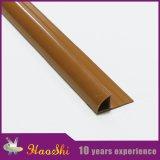 La baldosa cerámica flexible del PVC corta el material de construcción decorativo
