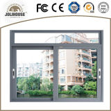 Ventana de desplazamiento modificada para requisitos particulares fabricación de China UPVC
