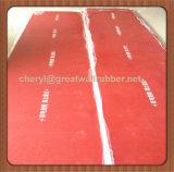 Plancher en caoutchouc d'étage de couvre-tapis de feuille d'isolation du certificat 26500V d'UE