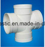 Tubo espiral interno del drenaje de la pared hueco de PVC-U