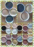 Sabbia naturale di colore utilizzata nel rivestimento di pietra di effetto