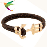 Mehrschichtige Mann-ledernes Armband der Webart-Stlb-17011009