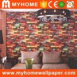 2017 Hete Verkoop! ! Leveranciers van het Behang van pvc van Guangzhou de Vinyl voor Binnenlands Decor