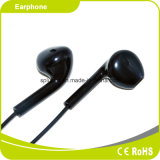 Acessórios Black&Red Earbuds do telefone da alta qualidade com microfone