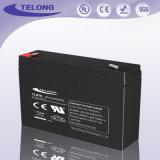 batterie électrique d'éclairage de 6V7ah DEL avec le prix de RoHS Ulfob de la CE : $3.0 - $4.0/partie