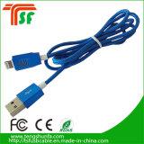 iPhone를 위한 둥근 USB 케이블 Charge&Data 이동 케이블