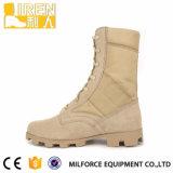 Новые ботинки пустыни неподдельной кожи Tan способа конструкции водоустойчивые