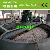 Película plástica Waste dos PP do PE que lava recicl o equipamento/linha/máquina