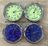 Mini piezas insertas del reloj del metal del cuarzo analogico promocional con insignia de encargo